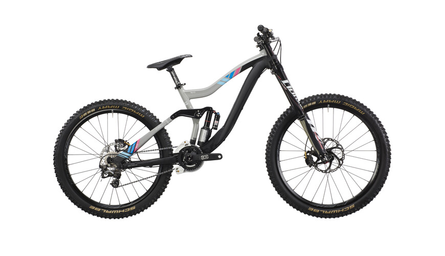 "VOTEC VD Elite - Gravity Fullsuspension 27.5""/26"" - black/grey"